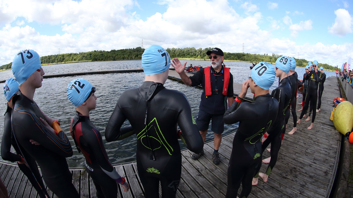 The benefits of taking club swimmers to open water