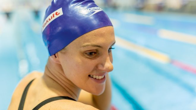 Jazz Carlin's Swimming Fitness Tips and Stamina Workout