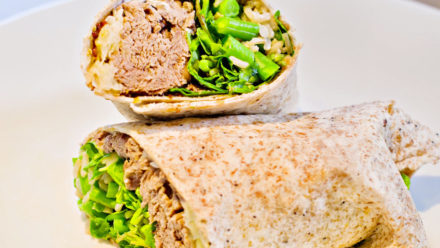 Recipe: The Pulled Beef Wrap