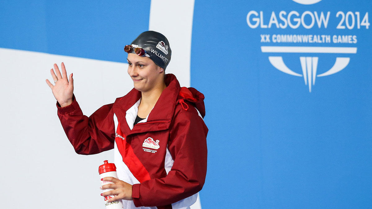 Aimee Willmott at the Glasgow 2014 Commonwealth Games