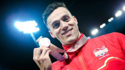 Guy claims silver to boost medal tally