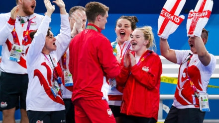 Golden moment for James Wilby at Commonwealth Games