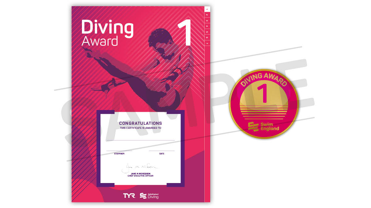 Swim England Diving Awards