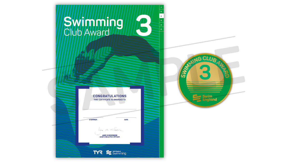 Swim England Swimming Club Awards