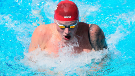 Peaty denied golden double