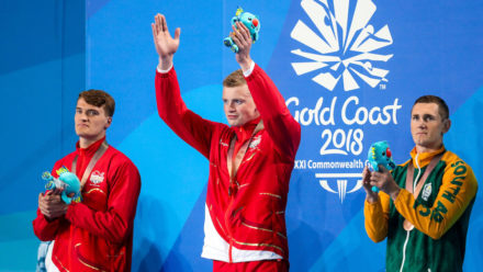 Adam Peaty sets Games record to defend Commonwealth title