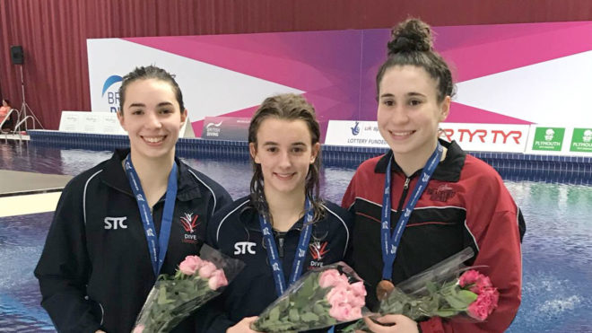 Maria Papworth wins 3m gold at Junior Elites