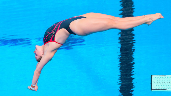 Five divers through to final session of Gold Coast 2018