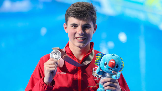 Dixon wins Gold Coast 10m platform silver
