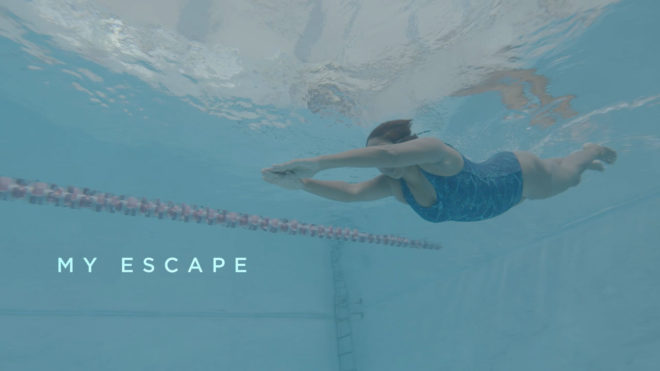 #LoveSwimming: escape the stresses of busy life