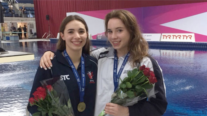 Mew Jensen and Harper land 3m Synchro title in Plymouth