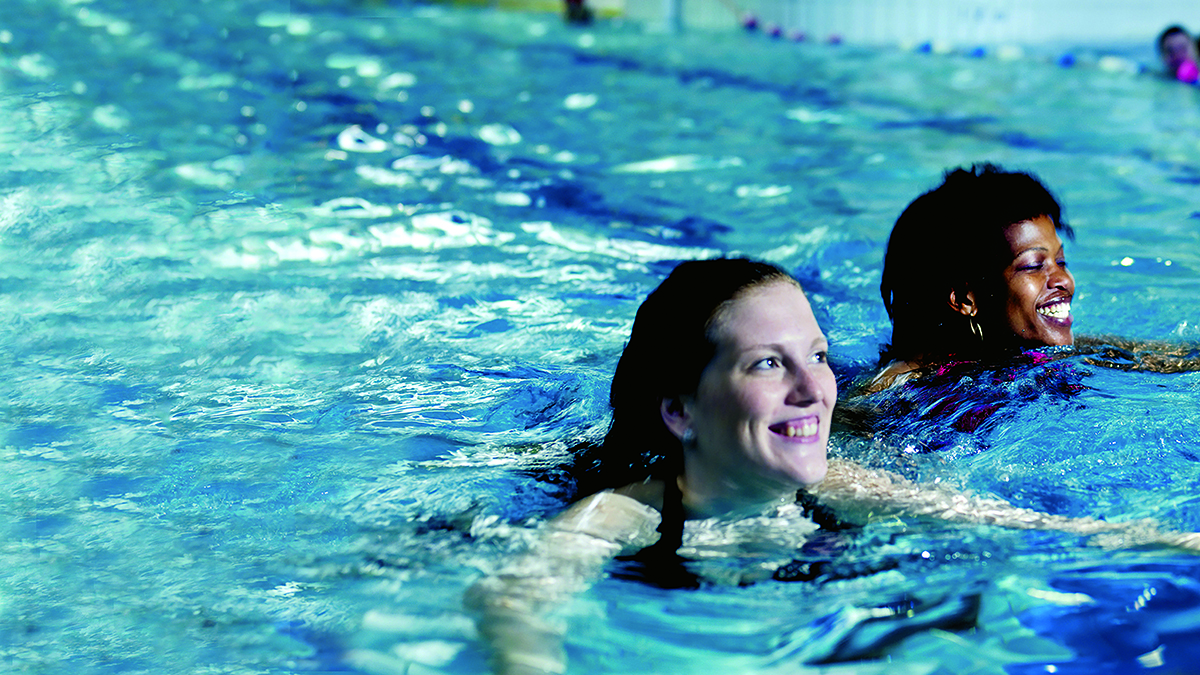 How swimming can help your Mind