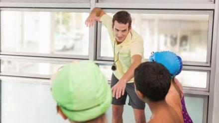 Lifeguards' skill-set is great start for swim teachers