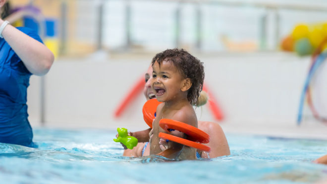 Level 2 Teaching Pre-School Swimming