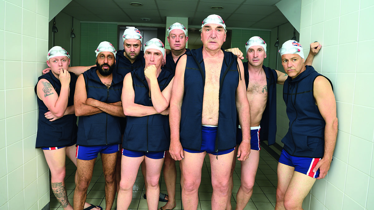 Swimming With Men cast