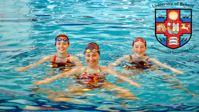 Synchronised swimming success at University of Bristol