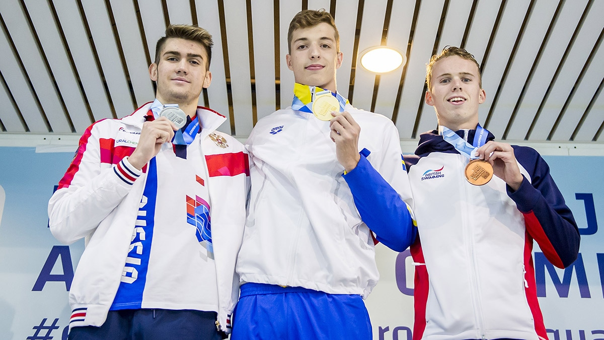 Great Britain third in European Junior Swimming Championships medal table