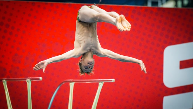 A third one, two finish for Sheffield at Diving NAGs