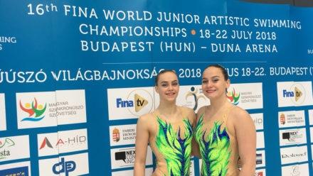 Top 10 finish for Shortman and Thorpe at World Junior Championships