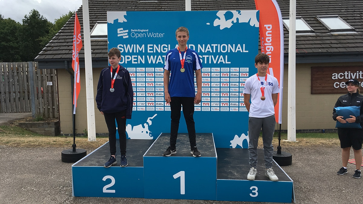 National Open Water Festival 13 Years medallists