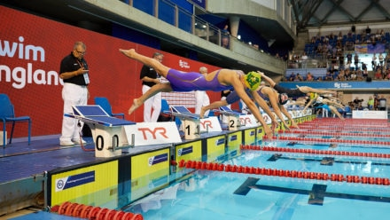 Adam claims first gold medal of National Summer Meet