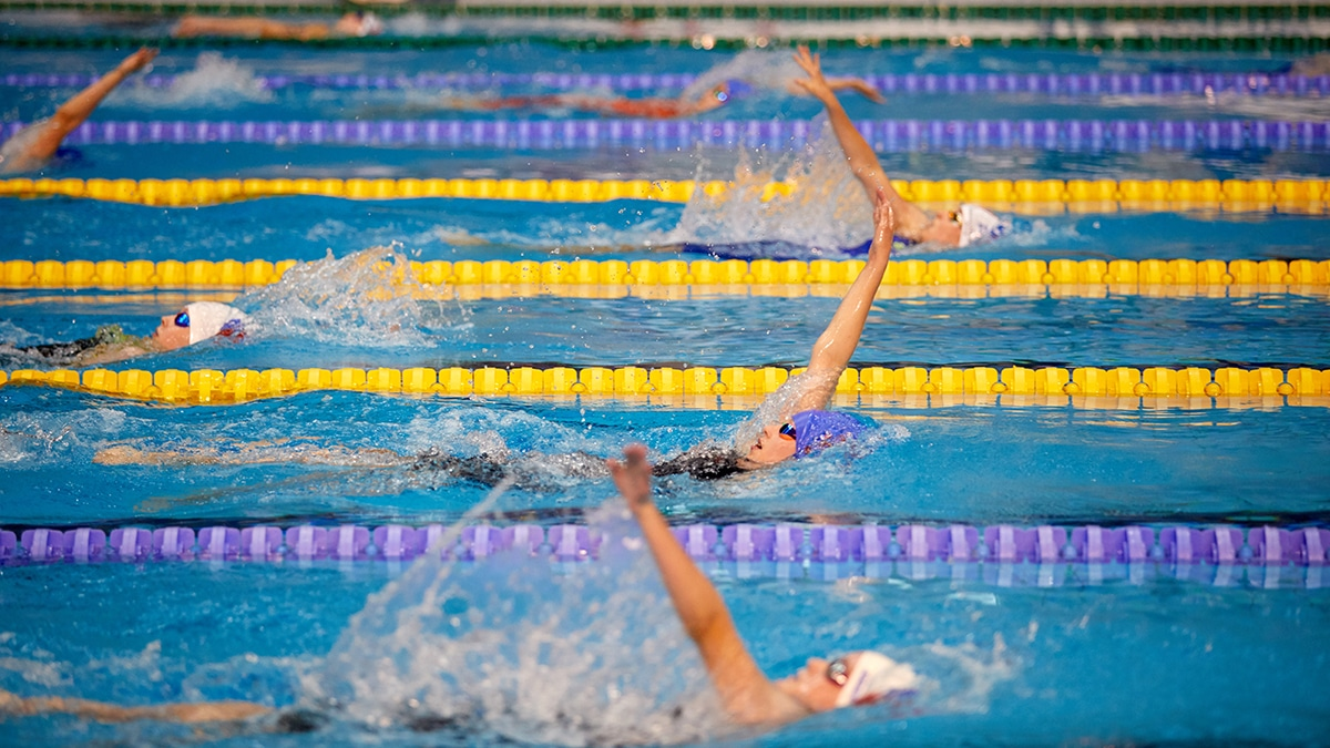 Women's 400m Individual Medley at Swim England National Summer Meet 2018