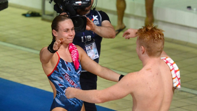 Fourth for Birch and Heatly at European Championships