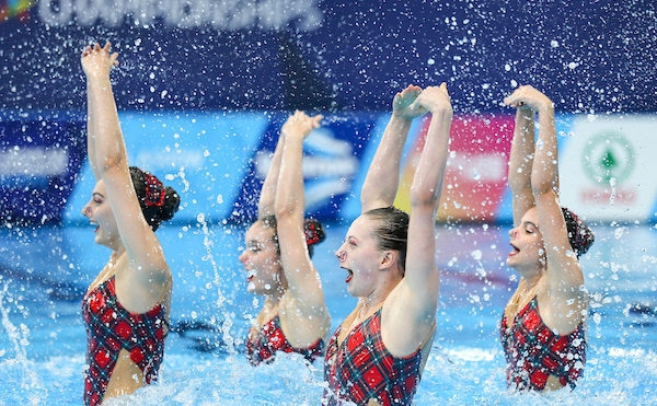 Celtic-themed routine secured ninth in the team technical