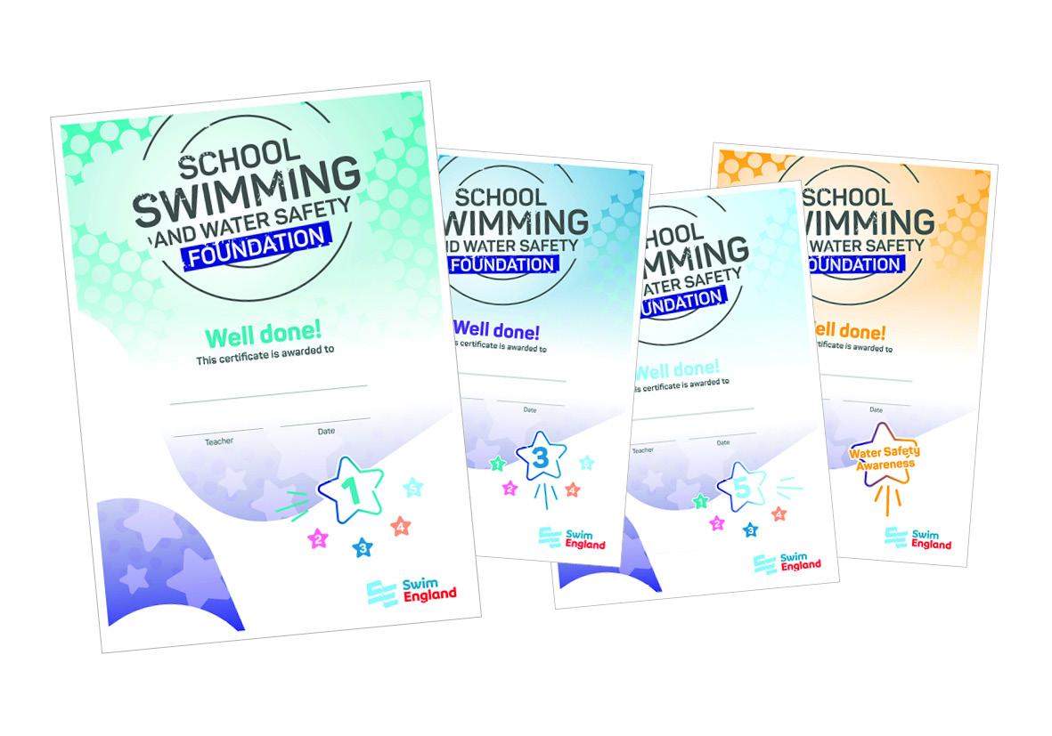 Swim England School Swimming Foundation Awards
