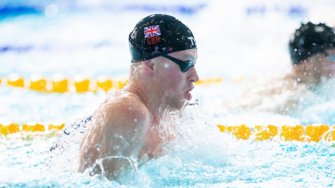 Another record-breaking swim from Peaty