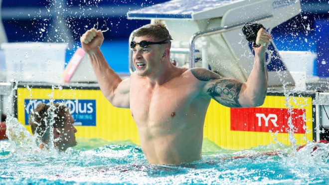 Adam Peaty encourages younger generation in BBC 'Lockdown Life' series