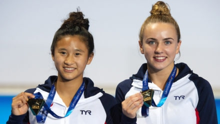 Eden Cheng and Lois Toulson strike gold
