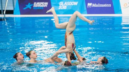 Brits finish ninth in Team Free at Glasgow 2018