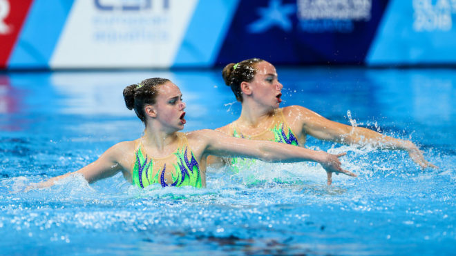 Shortman and Thorpe finish 10th in Duet Tech at Europeans