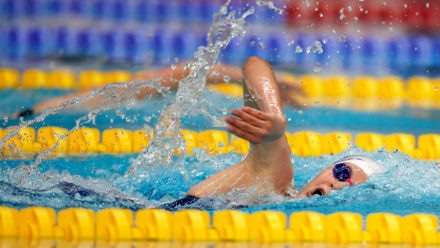Barnes wins National Summer Meet battle for 400m Freestyle gold