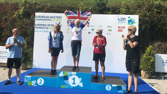 Ton up for Brits as medal haul at European Masters rises
