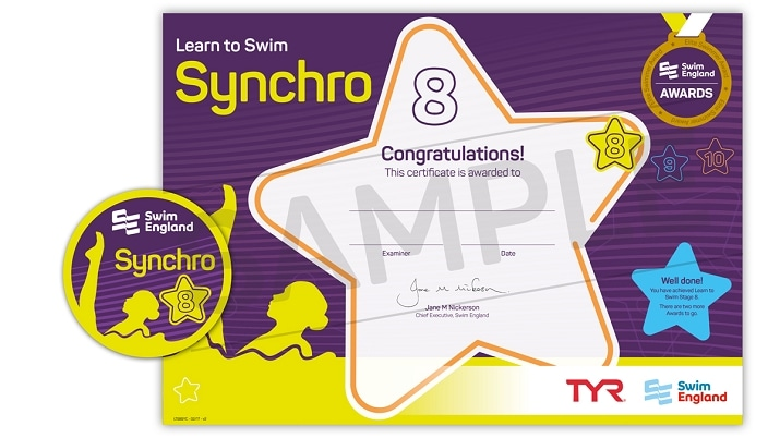 Learn To Swim Synchro: Stage 8