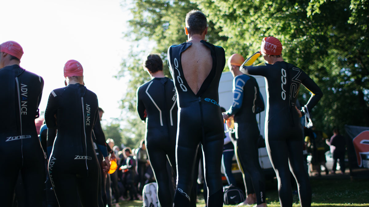Open water swimming kit