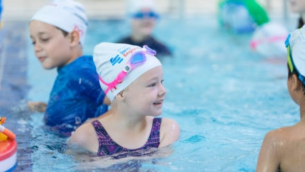 Win swimming lessons for your child