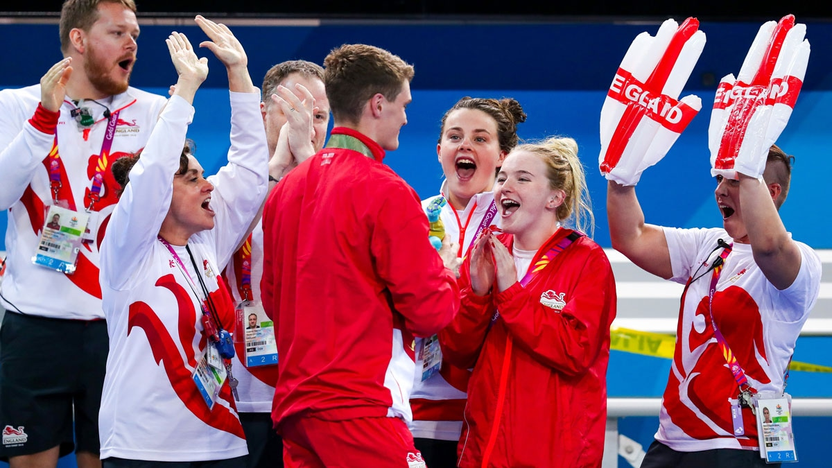 Commonwealth Games Gold Coast celebrations. The 2022 event is taking place in Birmingham