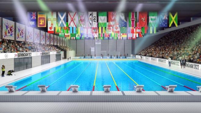 £60m aquatics centre to be built for Birmingham 2022 Commonwealth Games