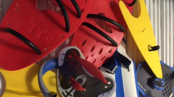 How to use paddles to reach your swimming goals