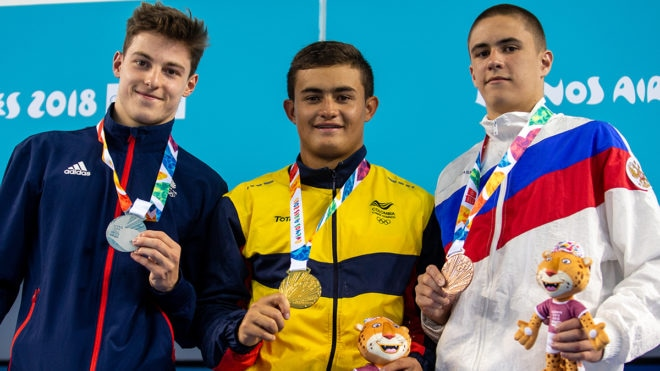 Harding over the moon to win Youth Olympic Games silver