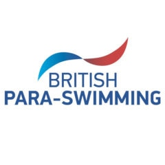 British Para-Swimming logo. Used for British Para-Swimming competitions and events.