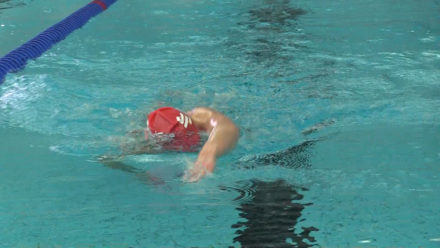 Tips for improving your front crawl arm technique