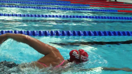 Tips for improving your front crawl body position
