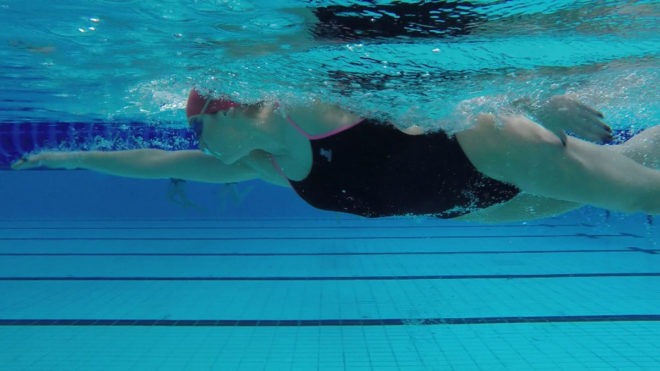 Tips for improving your front crawl kicking