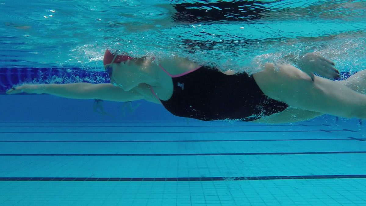 Improve your breathing in front crawl