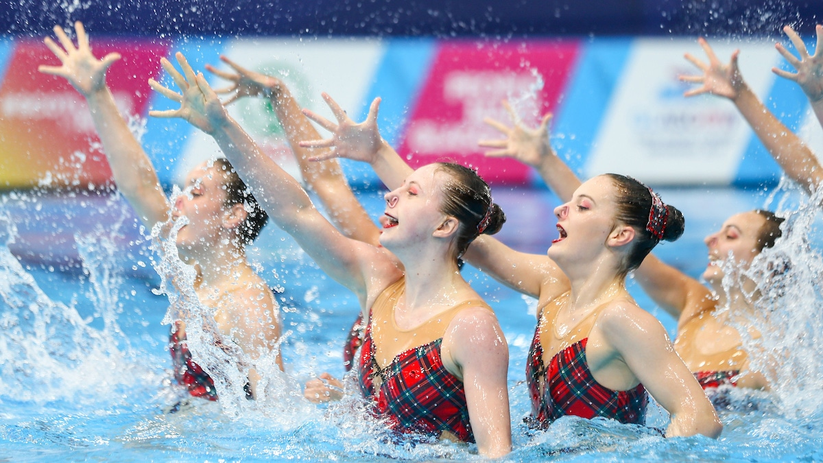 Swim England 2019 synchro training squad announced