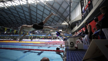 Three European records fall in session two of Masters champs